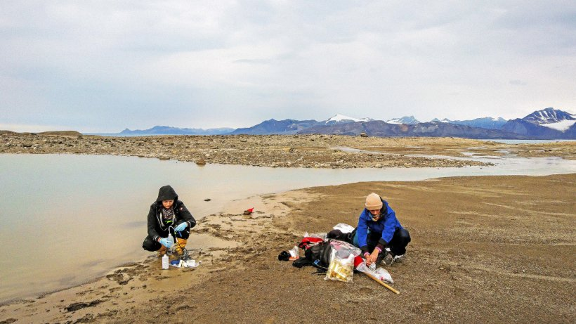 HZG researches climate change on Svalbard